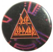 Def Leppard - 'Logo Lights' Button Badge